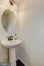 Powder Room Half Bathroom on Main Level - 7530 BRUNSON CIR, GAINESVILLE