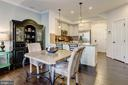 Dining Area with Hardwood Floors - 7530 BRUNSON CIR, GAINESVILLE