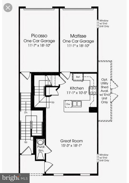 Matisse Floor Plan - Main Level of Home - 7530 BRUNSON CIR, GAINESVILLE