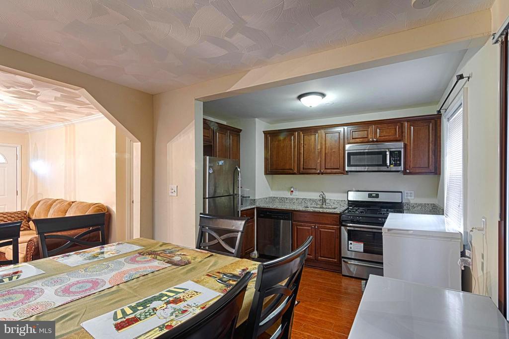 Dining Room / Kitchen - 6804 DARBY CT, HYATTSVILLE