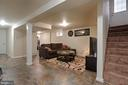 Lower Level Family Room - 6804 DARBY CT, HYATTSVILLE