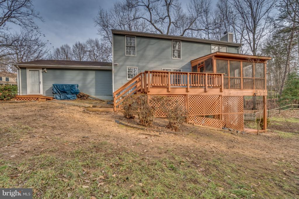 Rear view of home - 3227 TITANIC DR, STAFFORD
