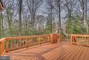 Back deck - 3227 TITANIC DR, STAFFORD