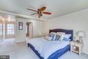 Master bedroom - 3227 TITANIC DR, STAFFORD