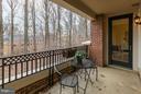 Balcony - 10401 STRATHMORE PARK CT #3-404, ROCKVILLE
