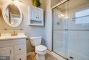 Privacy, please! Master bath with walk-in shower. - 6 DEENE CT, STAFFORD