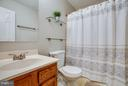 Go for a soak! Hall bath with tub - 6 DEENE CT, STAFFORD
