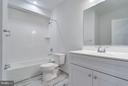Basement Bathroom - 4525 FAIRFIELD DR, BETHESDA