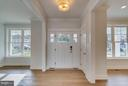 Foyer - 4525 FAIRFIELD DR, BETHESDA