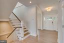 Foyer and Stairwell - 4525 FAIRFIELD DR, BETHESDA