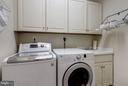 Upper level laundry with room to work - 3942 27TH RD N, ARLINGTON