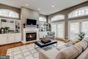 Custom built-ins and gas FP set the mood - 3942 27TH RD N, ARLINGTON