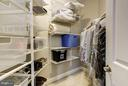Walk-in BR closet in Bedroom 3 - 3942 27TH RD N, ARLINGTON