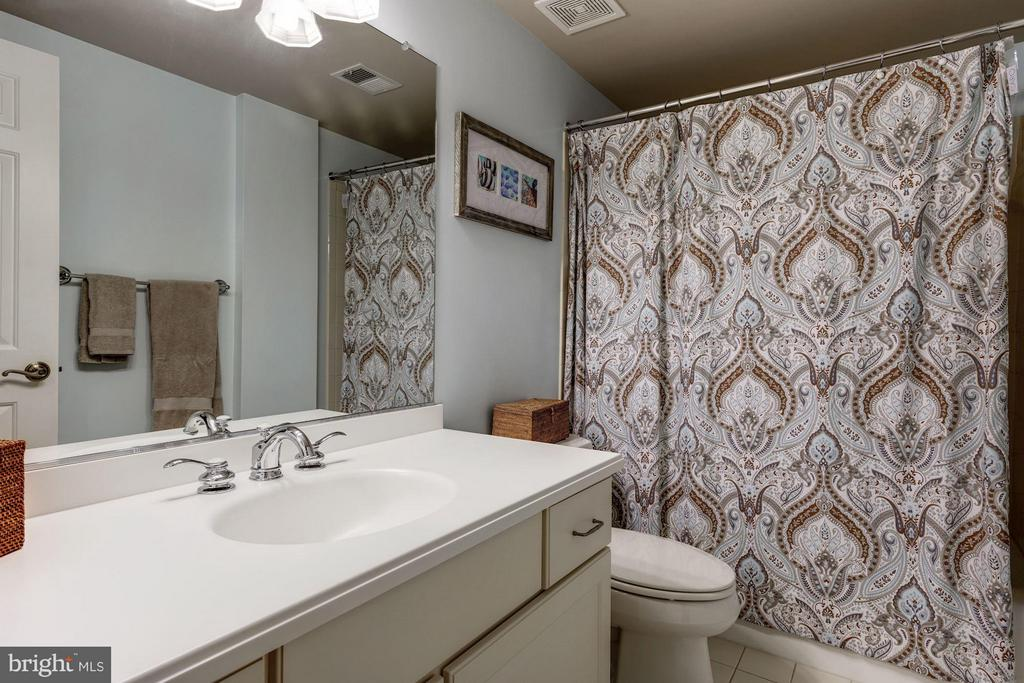 One of two full baths on lower level - 3942 27TH RD N, ARLINGTON