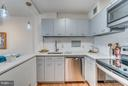 Kitchen w/Stainless Steel Appliances - 560 N ST SW #N707, WASHINGTON