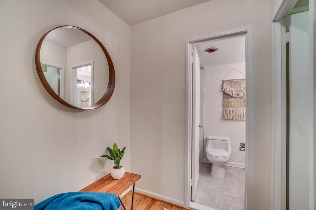 Dressing Area across from Large Walk-In Closet - 560 N ST SW #N707, WASHINGTON