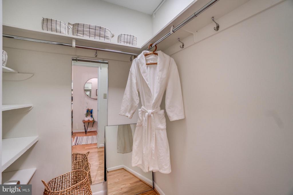 Large Walk-In Closet - 560 N ST SW #N707, WASHINGTON