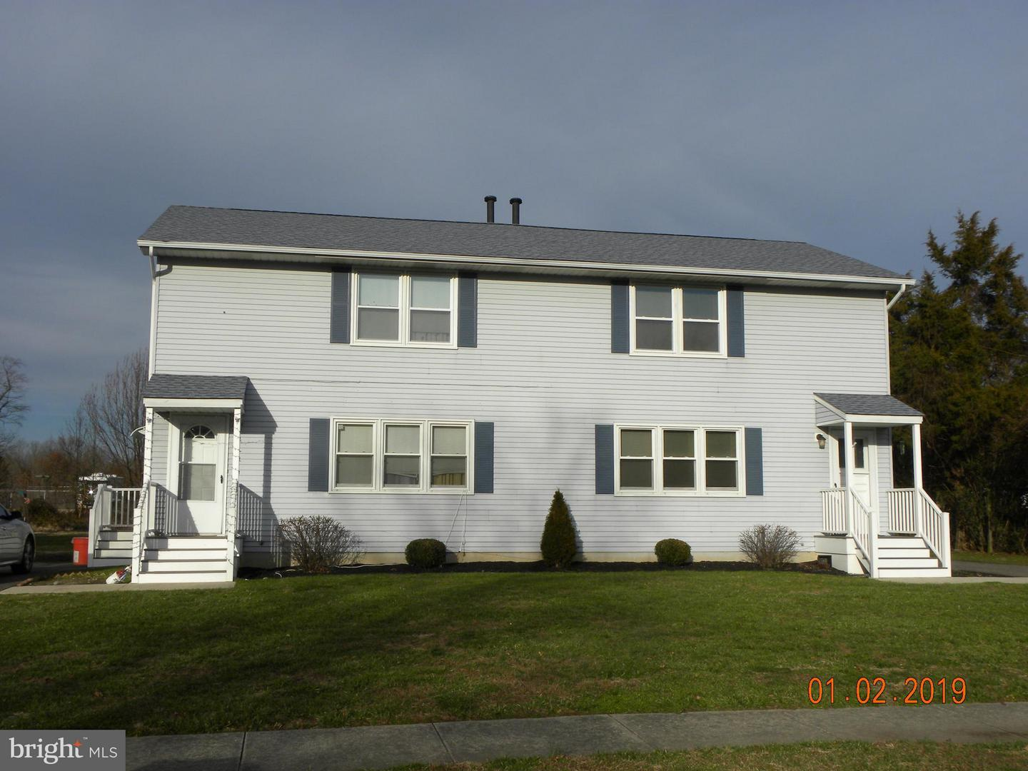 Duplex for Sale at Vineland, New Jersey 08360 United States