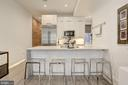 Gourmet Kitchen with Breakfast Bar - 1817 VERNON ST NW #2, WASHINGTON