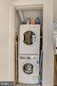 Washer & Dryer in the unit - 1817 VERNON ST NW #2, WASHINGTON