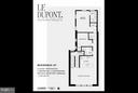 Floor Plan (roof terrace not shown) - 1524 18TH ST NW #PENTHOUSE, WASHINGTON