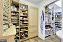 Pantry with Subzero 2, Massive Storage Capacity - 11601 SPRINGRIDGE RD, ROCKVILLE