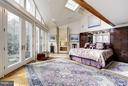 (1)Master Bedroom to Patio and Bath - 11601 SPRINGRIDGE RD, ROCKVILLE