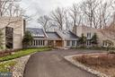 Circular Drive;  Oak Entry Doors; Copper Roof - 11601 SPRINGRIDGE RD, ROCKVILLE