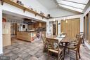 (2)Breakfast Room; Coat Closet; Island Bookcase - 11601 SPRINGRIDGE RD, ROCKVILLE