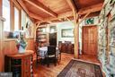 Wine and Game room; Beverage fridge;Workshop entry - 11601 SPRINGRIDGE RD, ROCKVILLE