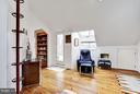 (2) Family Suite Bookshelves and Door to Deck - 11601 SPRINGRIDGE RD, ROCKVILLE