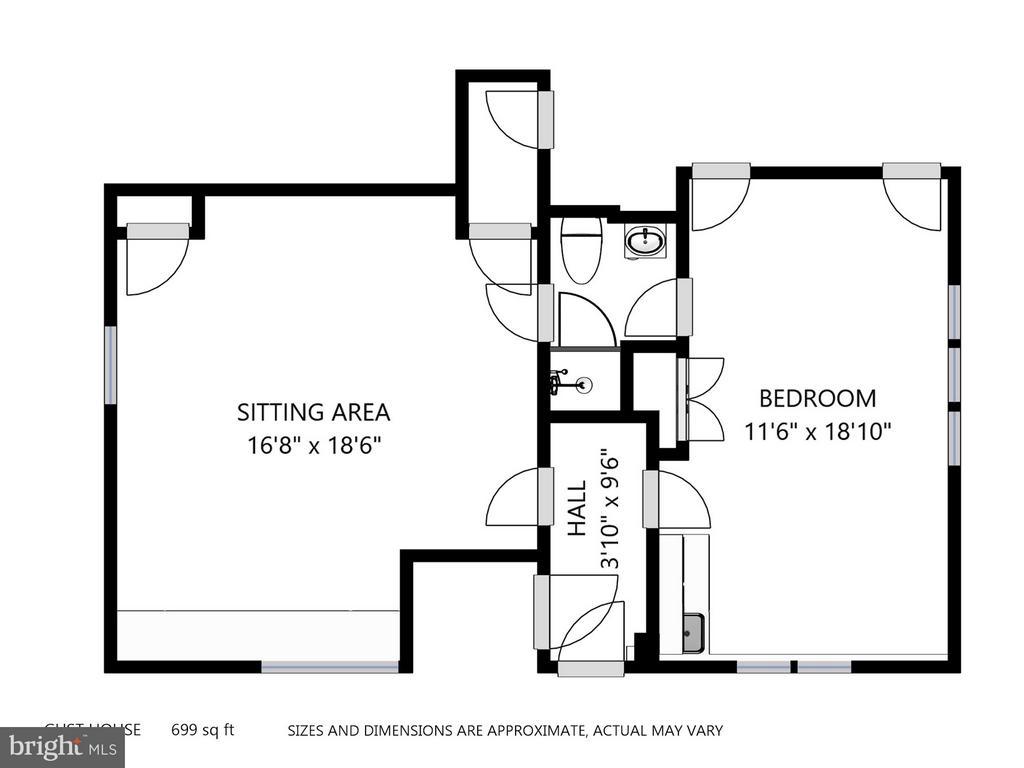 Guest House Plan Above 3 Car Garage - 11601 SPRINGRIDGE RD, ROCKVILLE