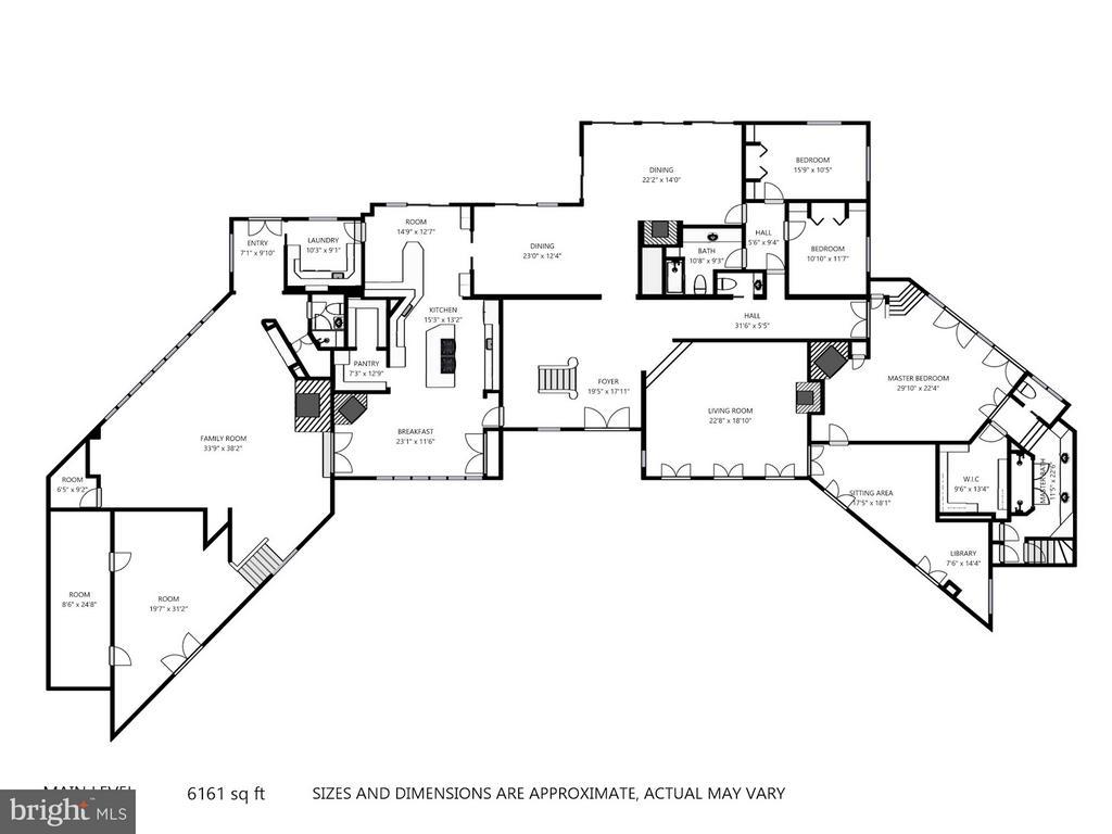 First Floor Plan - 11601 SPRINGRIDGE RD, ROCKVILLE