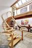 Unique Stairway with Floating Treads and Railing - 11601 SPRINGRIDGE RD, ROCKVILLE