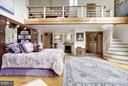 (3) Master Bedroom -stairs to loft office - 11601 SPRINGRIDGE RD, ROCKVILLE