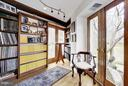 Music and Document Library off Sitting Room - 11601 SPRINGRIDGE RD, ROCKVILLE