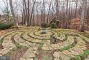 Labyrinth and Gazebo beyond - 11601 SPRINGRIDGE RD, ROCKVILLE