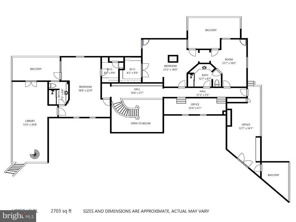 Second Floor Plan - 11601 SPRINGRIDGE RD, ROCKVILLE