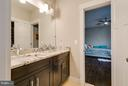 Jack and Jill Bathroom - 118 MADISON RIDGE LN, HERNDON
