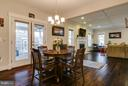 Breakfast Area - 118 MADISON RIDGE LN, HERNDON