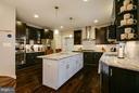 Gourmet Kitchen - 118 MADISON RIDGE LN, HERNDON
