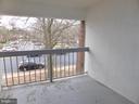Balcony - 3807 LARAMIE PL #G, ALEXANDRIA