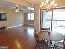 Dining Room / Living Room - 3807 LARAMIE PL #G, ALEXANDRIA