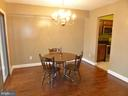 Dining Room - 3807 LARAMIE PL #G, ALEXANDRIA