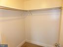 MBR Walk-In Closet - 3807 LARAMIE PL #G, ALEXANDRIA