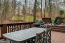 View of Multi-Tiered Deck - 6026 MAKELY DR, FAIRFAX STATION