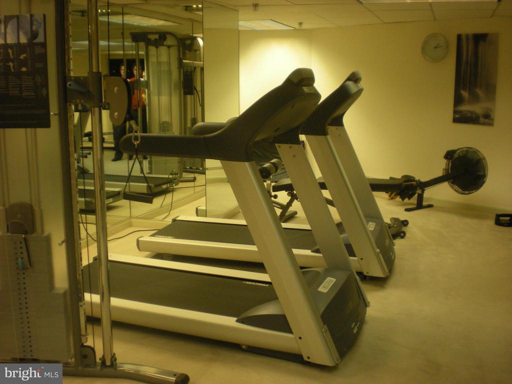 Fitness Room 10th Floor - 801 PENNSYLVANIA AVE NW #1126, WASHINGTON