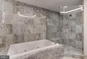 Marble Master Bath with Large Soaking Tub - 1881 N NASH ST #506, ARLINGTON