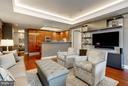 Living Room - 1881 N NASH ST #506, ARLINGTON