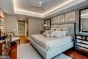 Bedroom with Custom Lighting - 1881 N NASH ST #506, ARLINGTON